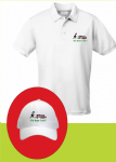 Lawn Bowls Funny White Baseball Cap Or Polo Shirt Its The Way I Roll ! Freepost UK